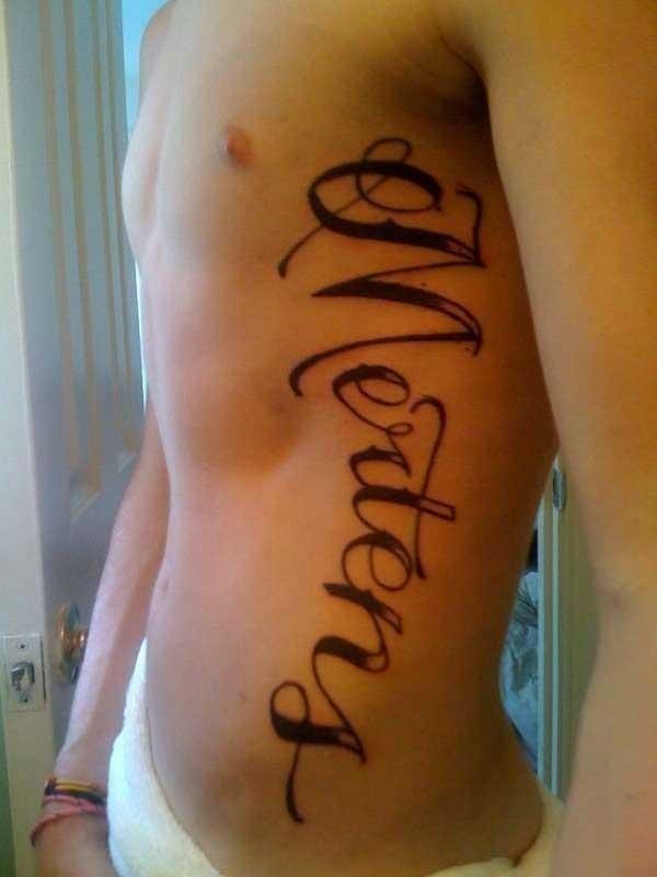 Rib cage tattoos man ideas