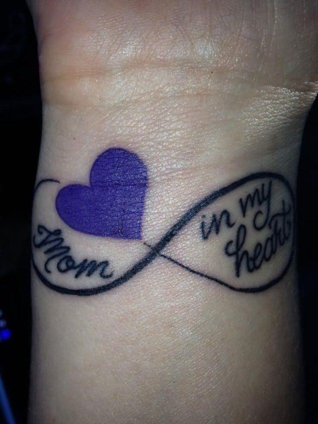 Right wrist memorial dad tattoo
