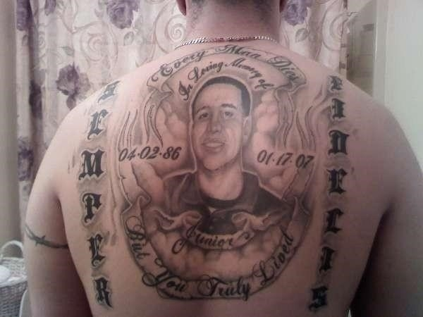 Rip brother tattoo