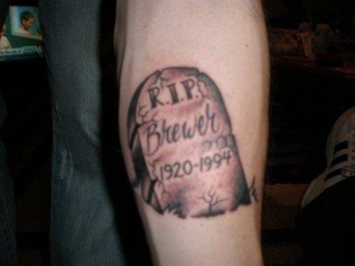 Rip tattoo 4