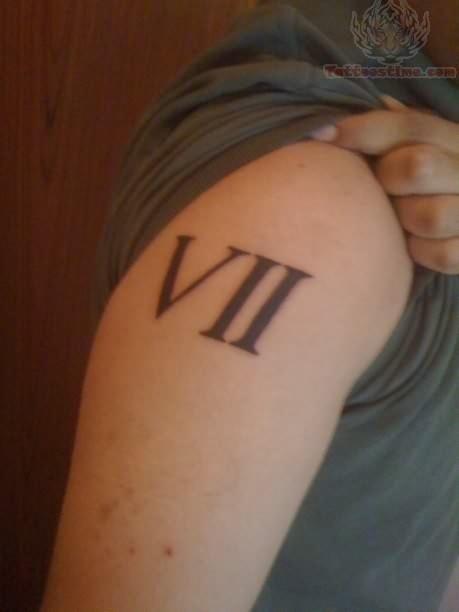 Roman numeral 7