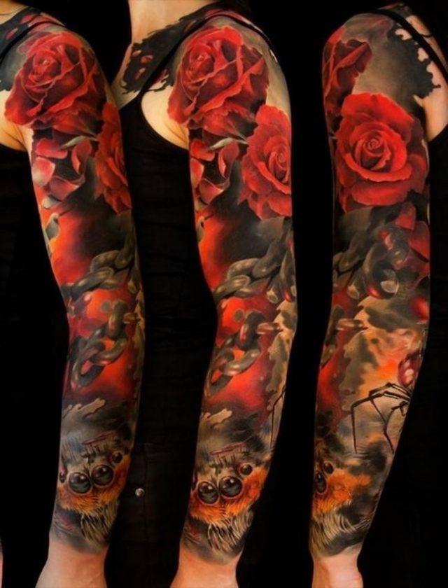 Roses tattoo 8 650×853
