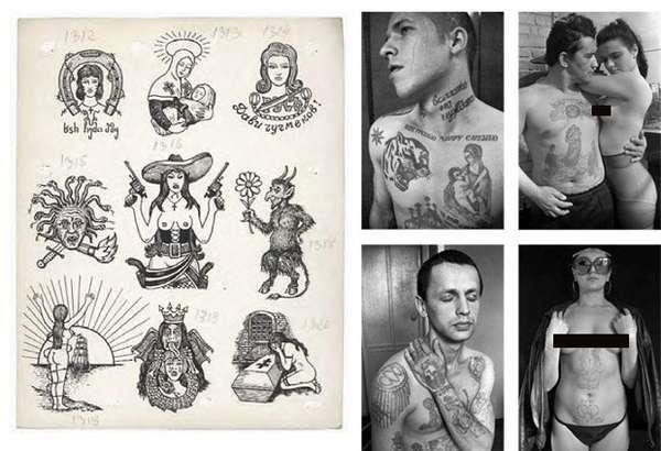 Russian criminal tattoos