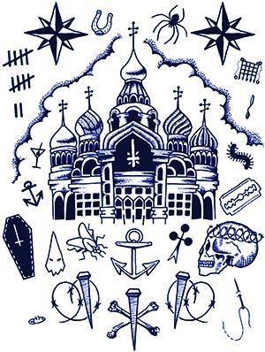 Russian prison tattoos1