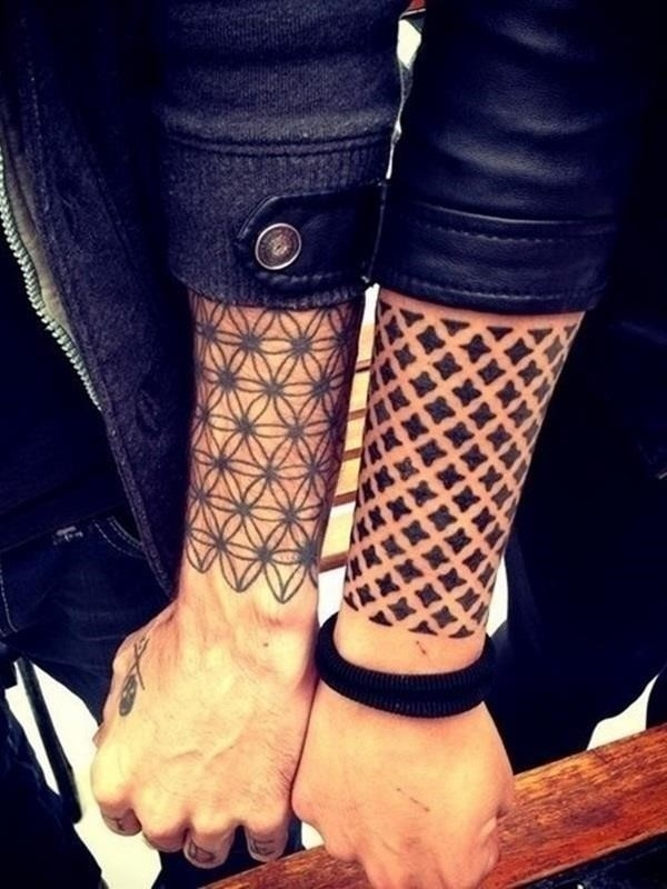 Sacred geometry Tattoo 9