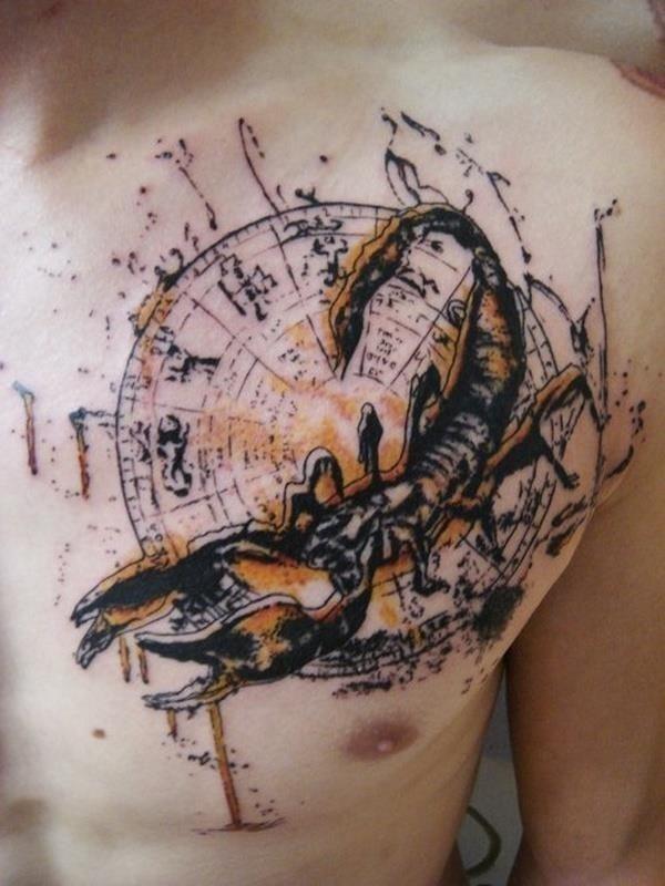 Scorpio tattoo 18
