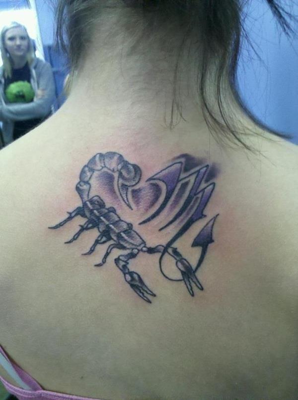 Scorpio tattoos 11