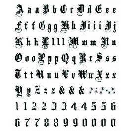 Script it temporary tattoo letters tt0203