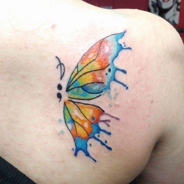 Semicolon tattoo 05031712