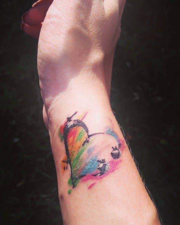 Semicolon tattoo 05031781