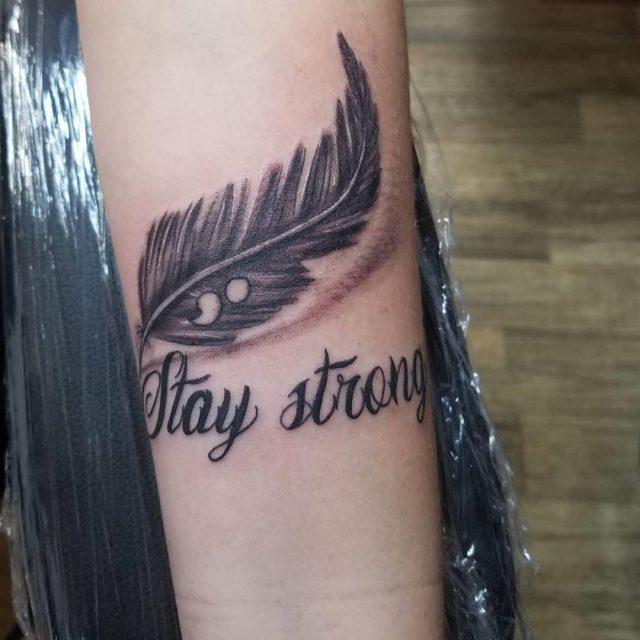 Semicolon tattoo 112