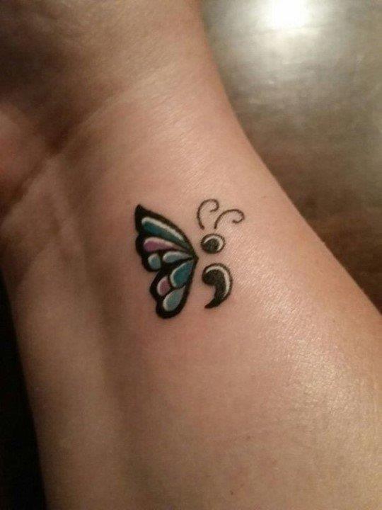 Semicolon tattoo 2