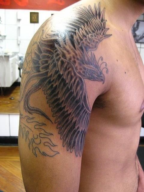 Shoulder tattoo 04