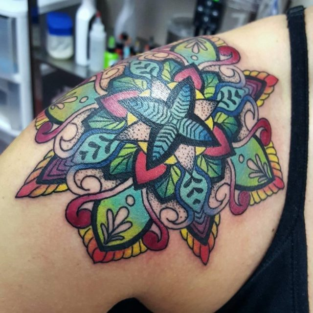 Shoulder tattoo 10