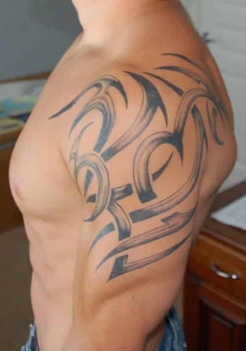Shoulder tattoo 41