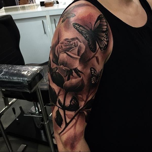 Shoulder tattoos 44