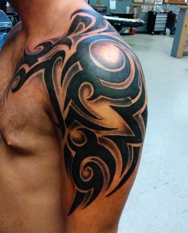 Shoulder tattoos for men 01