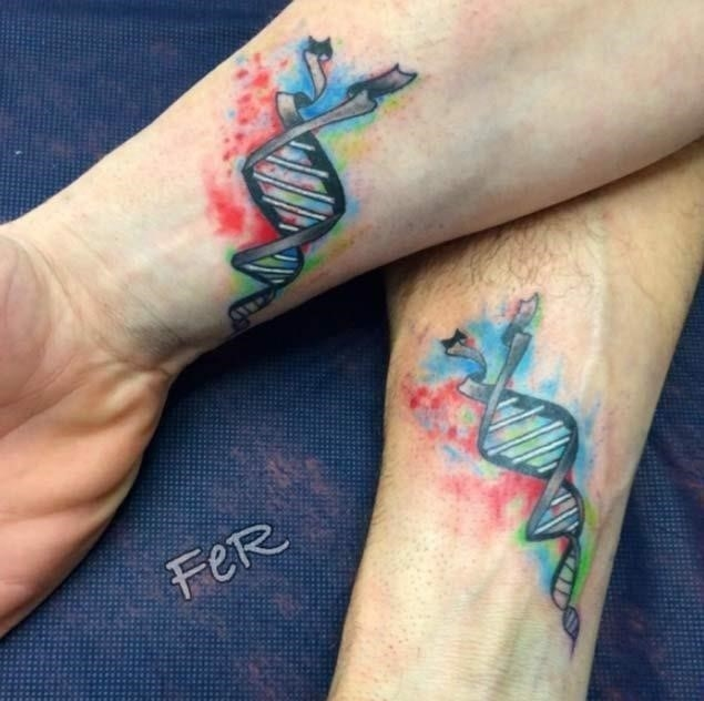Sibling brother tattoos
