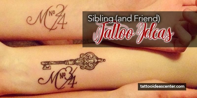 Sibling tattoos featured