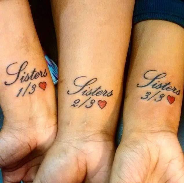 Sister sibling tattoo designs 1