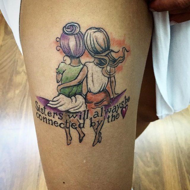 Sister tattoo 28