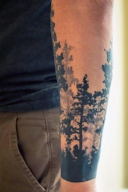 Skull forearm tattoos