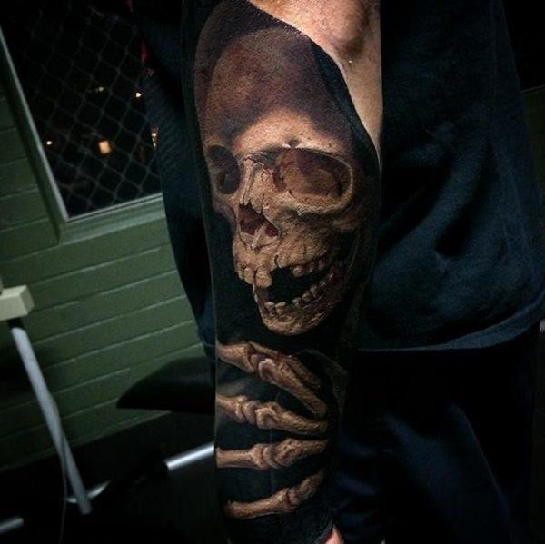 Skull tattoos 10121551