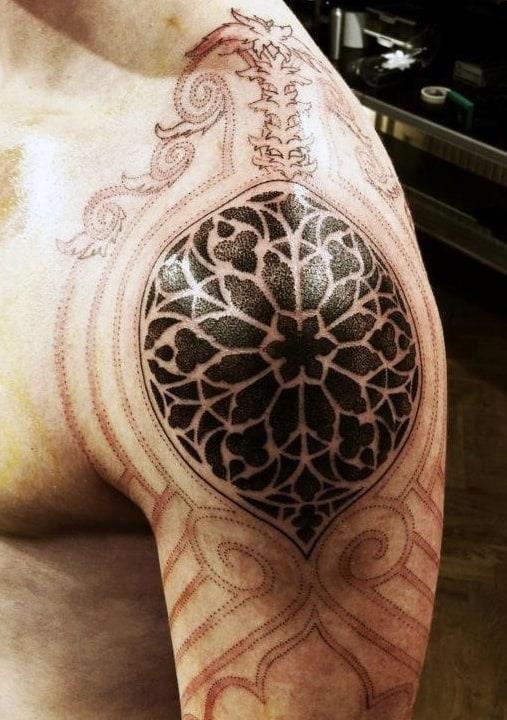 Skull tattoos for men on arm