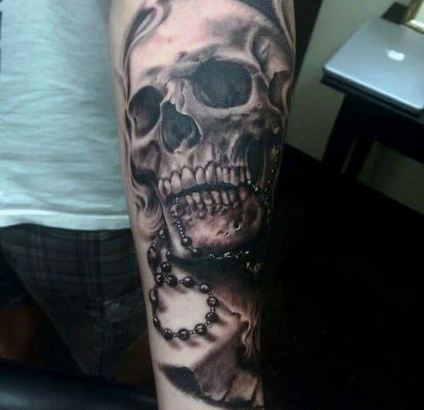 Skull tattoos for men sleeves