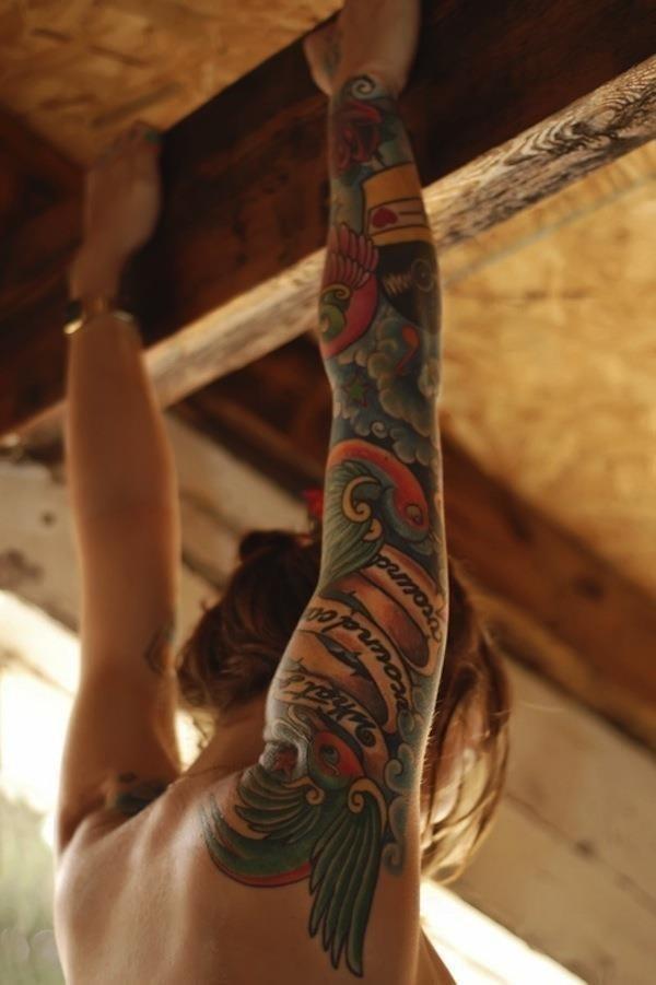 Sleeve tattoo 9
