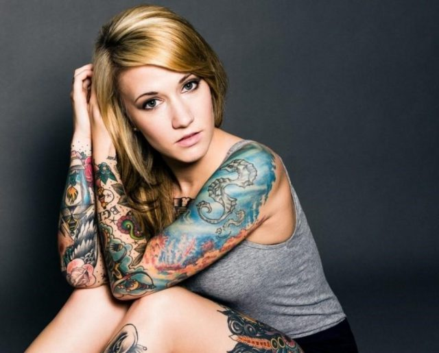 Sleeve tattoos for women 3