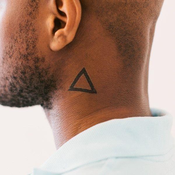 Small neck tattoos