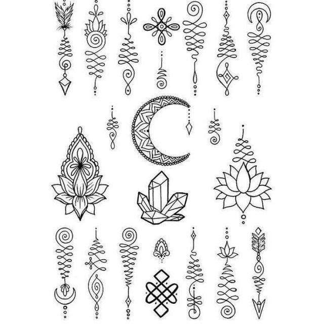 Small tattoo drawings 22