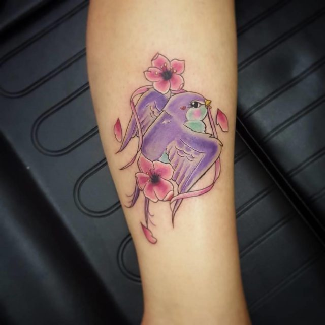 Sparrow tattoo 23
