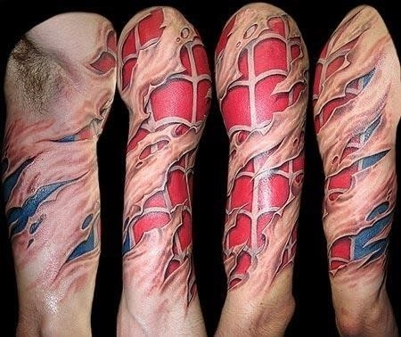 Spiderman tat 2