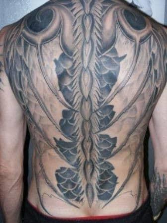 Spine tattoos 31