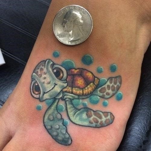 Squirt disney tattoos