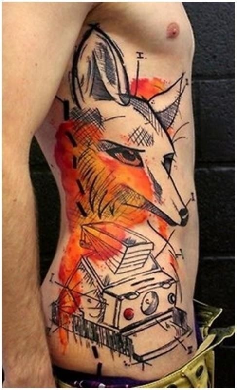 Stomach Tattoo Designs 9 487×800