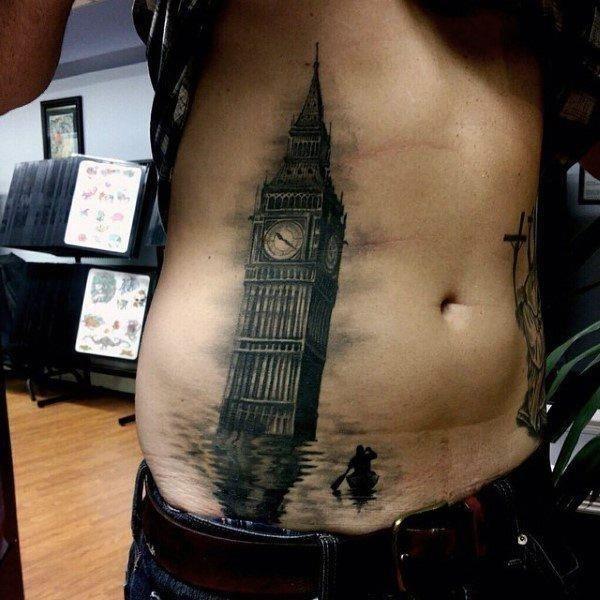Stomach tattoos 18