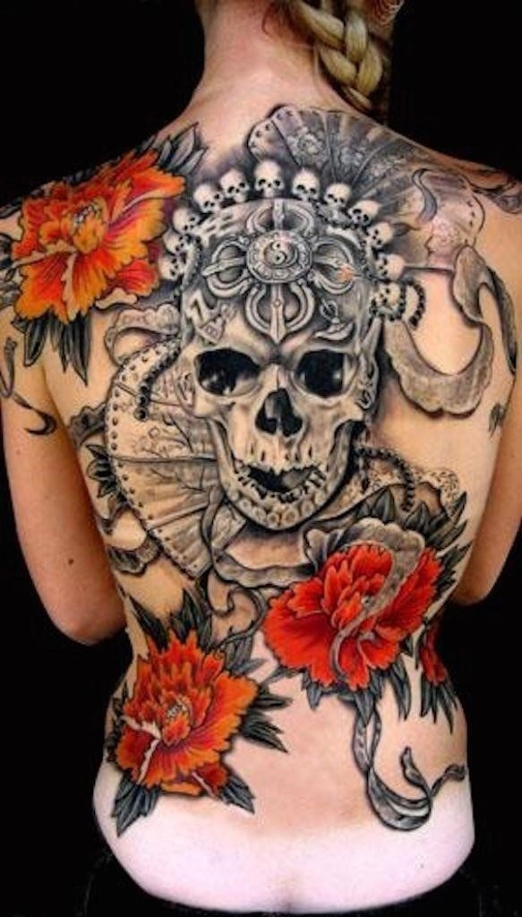 Sugar skull tattoos 141