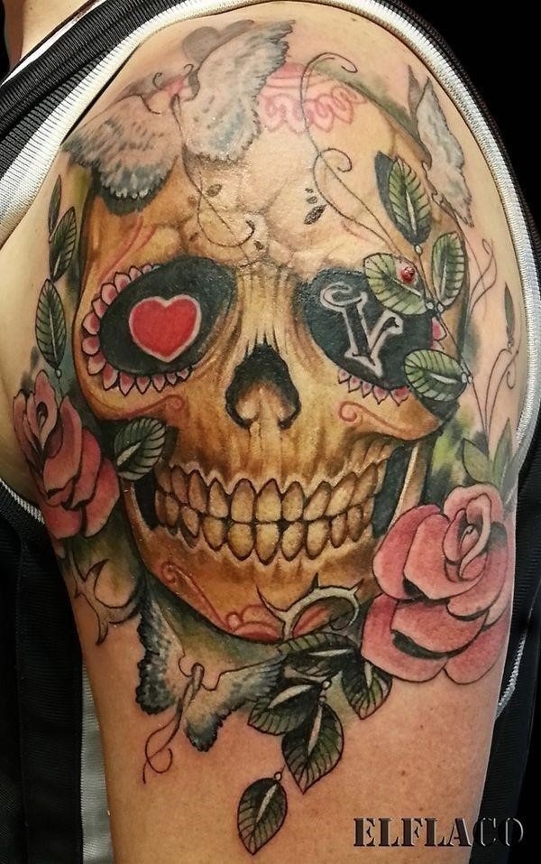 Sugar skull tattoos 201
