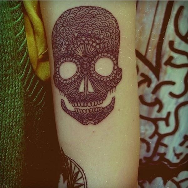 Sugar skull tattoos 91