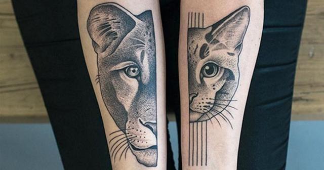 Symmetrical tattos valentin hirsch fb
