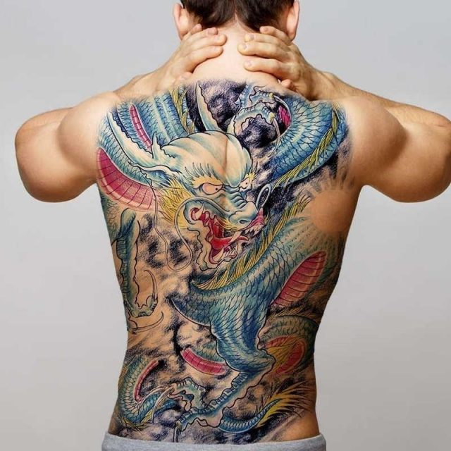 Tatoos temporales for men temporary chinese tattoos I am your hero large back tattoos water transfer
