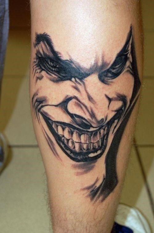Tatouage joker 1