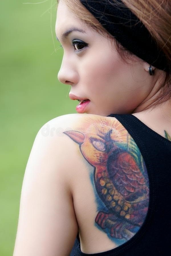 Tattoo asian girl 23057210
