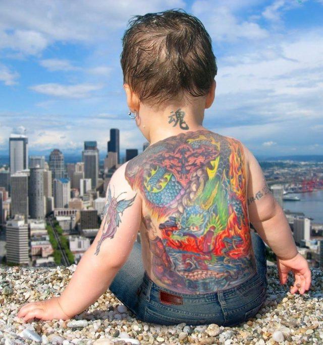 Tattoo baby 11