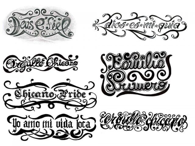Tattoo designs lettering styles 327696