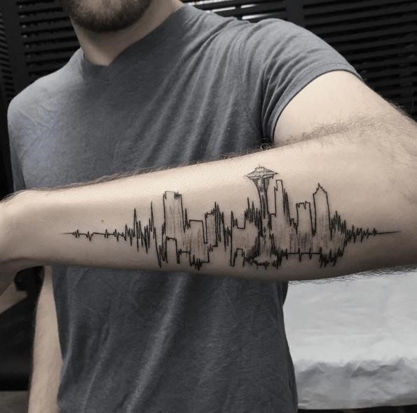Tattoo ideas for men Done by Turan at Bang Bang NYC