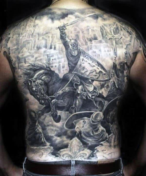 Tattoo ideas for men back